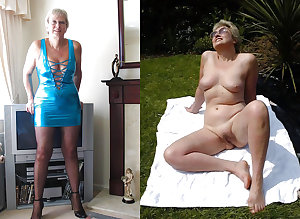 Dressed undressed grannies
