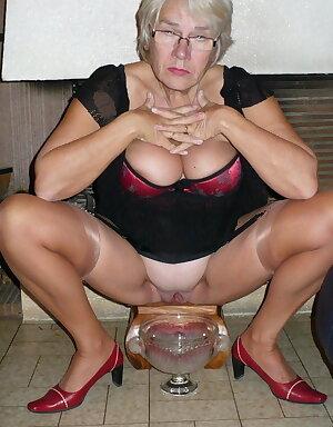 Granny & Mature stockings