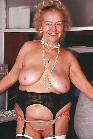 Granny Grandma Old Ladies in Sexy Lingerie 5