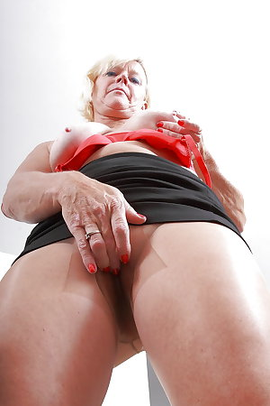 Various hot mature and granny
