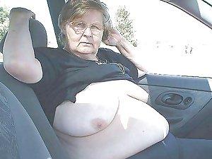 British BBW Granny, 65 years old