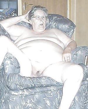 British BBW Granny, 65 years old