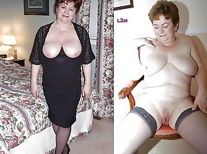 Still Even More Dressed Undressed Grannies and Matures