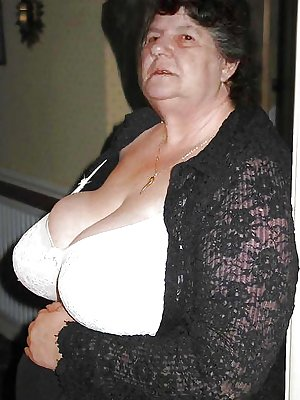 Big bras on Grandma