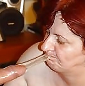 Mature Granny Stuck and fucked by young bot