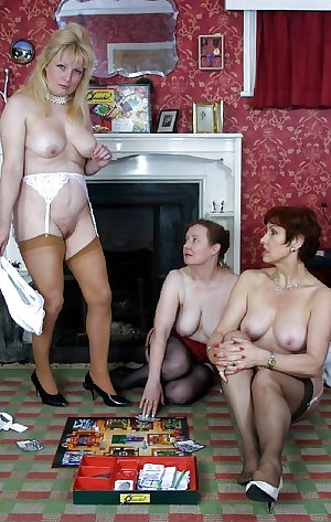 Grannies playing strip cluedo