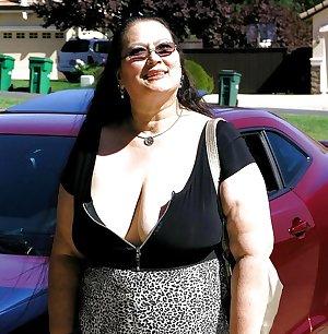 Big older boobs.