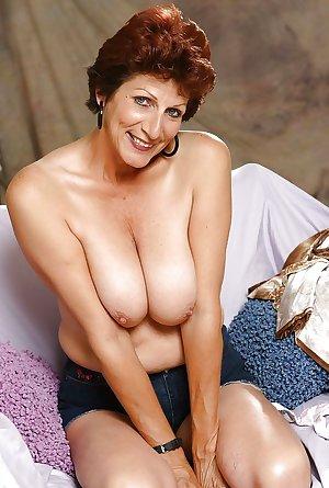 Grandma with big tits 2.