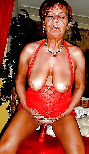 Granny her saggy tits 1.