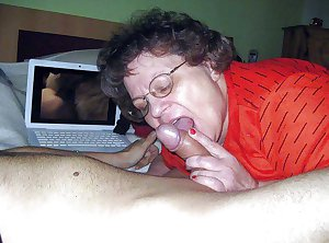 Grandma Loves to Suck Cock