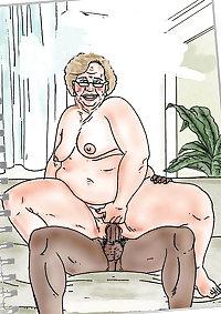 Bbw cartoon porn