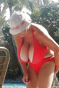 Old ladies big tits