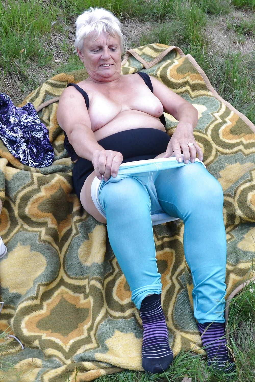 Granny naked old 👵 Granny